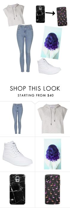 """""""I had to buy a NEW PHONE!!!"""" by canadian-camera-lover ❤ liked on Polyvore featuring Topshop, adidas, Vans and Casetify"""