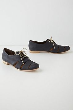 Ishiro Cutout Oxfords #anthropologie