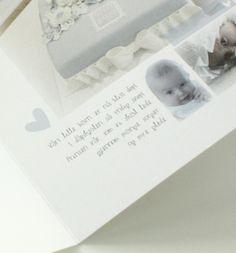 Birth - Thank you card, baptism
