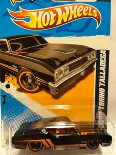 2012 hot wheels 69 ford torino talladega muscle mania 1 of 10 and 111247