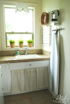 Common Ground: put that number and curtain below sink