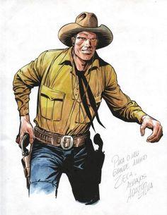 Tex Willer by Adauto Silva