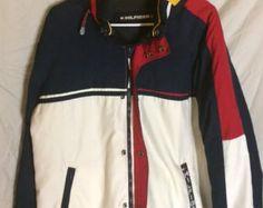 Vtg Tommy Hilfiger reversible jacket