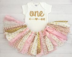 First Birthday Outfit Girl.Birthday by SweetFamilyCrafts on Etsy