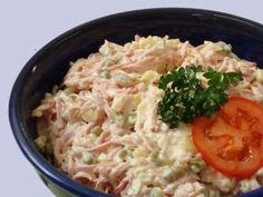 Parížsky šalát na zdravší spôsob Grains, Rice, Food, Kochen, Meal, Essen, Hoods, Meals, Eten