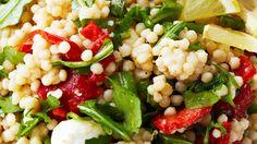 COUSCOUS recipes | Israeli Couscous Salad Recipe - Best Salad Recipes - Bite Me More