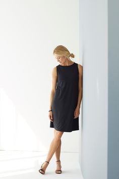 Your new favorite LBD (featuring J.Jill's Wearever Pleated-Back Dress)