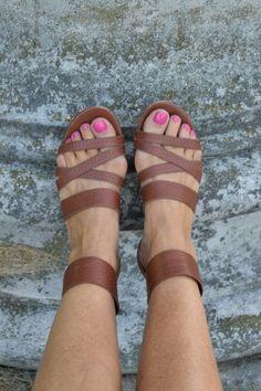 Ann Taylor gladiator sandals at danceofdestiny.com