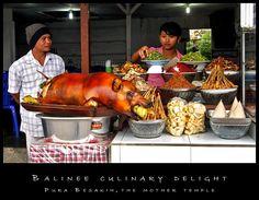 Babi guling - roast suckling pig - delicious food of #Bali