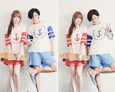 #cute #couple #ulzzang #love ♥