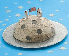 I must make this cake for Eli's astronaut birthday party. Where do you think I can get these little astronauts?