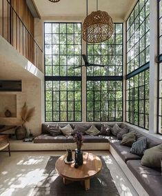 Dream Home Design, Home Window Design, Simple Home Design, House Rooms, Cheap Home Decor, Home And Living, Small Living, Kitchen With Living Room, Loft Kitchen