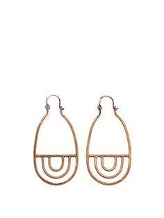 #earrings   Stone and Honey