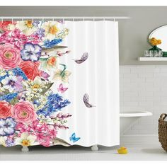 Shower curtain is printed on 100% woven polyester construction for maximum strength. No liner needed. Ambesonne uses the highest grade ink and state of the art equipment to ensure vibrant colors and lasting durability. Water-resistant, tailored hem and reinforced stitched holes. Comes as a bathroom set with 12 free hooks in the package. Complete your bathroom decor with this item. Ambesonne print cool designs on a high quality polyester fabric.
