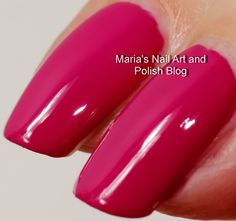 Dune Our Thing is described as a dark neon berry creme – one also could call it a dark fuchsia/magenta. You easily can get away with one coat, ...