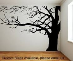 the great oak tree wall sticker