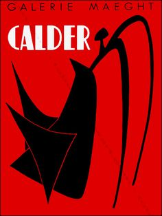 Alexander Calder - Stabile noir, 1959.