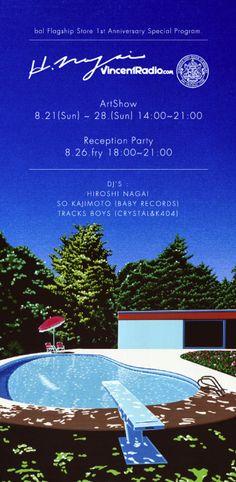 radioclub: BAL FLAG SHIP STORE 1 YEAR ANNIVERSARY HIROSHI NAGAI x BAL x VINCENT RADIO Art Show Aug.21 (sun) ~ 28. Aug (sun) @bal flagship store Open 14:00 ~ Close 21:00 Reception Party with Live Broadcast 26. Aug (fri) 18:00 ~ 21:00 DJ:HIROSHI NAGAI, SO KAJIMOTO, TRAKS BOYS @bal flagship store Broadcast at http://vincentradio.com BAL FLAG SHIP STORE MAPhttp://bit.ly/ox6LT1 MO INFOhttp://bit.ly/qDeAZA