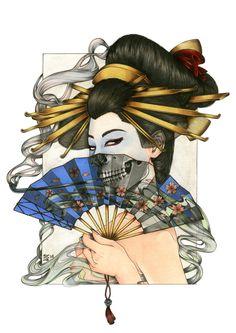 Geisha Project by Zoe Lacchei at Coroflot.com