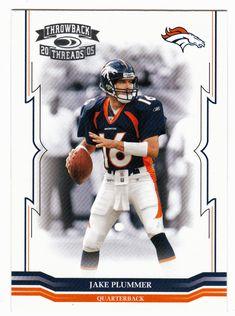 Jake Plummer # 48 - 2005 Donruss Throwback Threads Football