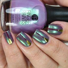 nails.quenalbertini: FingerPaints Project Runway, The Purples | Colores de Carol
