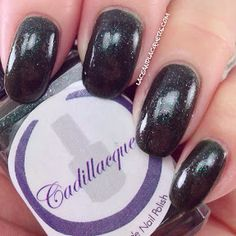 Lace and Lacquers: Forget Me Not Friday - CADILLACQUER: When You're In Hell, Only The Devil Can Help You Out
