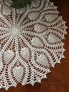 Ideas For Crochet Doilies Crafts Etsy Doilies Crafts, Lace Doilies, Crochet Doilies, Crochet Flowers, Crochet Lace, Free Crochet Doily Patterns, Crochet Motif, Crochet Stitches, Crochet Round