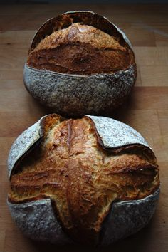 I've already posted lots of photos on scoring/slashing loaves in this post here, but Nicola asked me last night to show her how, and since I had 2 loaves already in the fridge for baking this morning it would be easy to video scoring them…well easy because I had a [click to continue...]