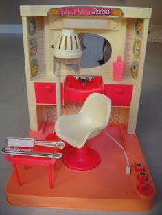 Salão De Beleza Da Barbie Da Estrela - Anos 80 - Antigo - R$ 89,00 no MercadoLivre