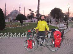 Francesco Alaimo, da solo in bicicletta verso EST - www.ViaggiaredaSoli.net