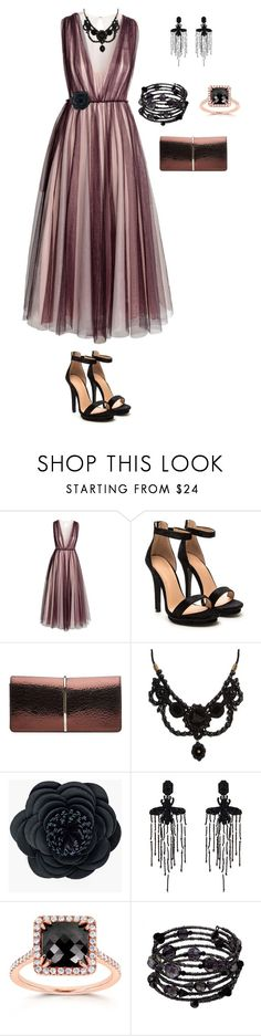 """""""Sem título #22"""" by ren-emily ❤ liked on Polyvore featuring H&M, Nina Ricci, Gucci, Chico's, Kobelli and 1928"""