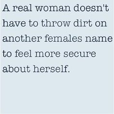 You are NOT a real woman!