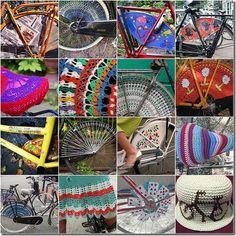 bicicletas decoradas al crochet