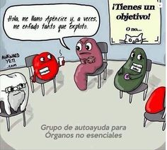 Grupo de autoayuda para órganos no esenciales ;)))