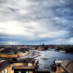 View from the rooftops of Stockholm!