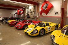 James Glickenhaus Garage by Ciorra Photography, via Flickr