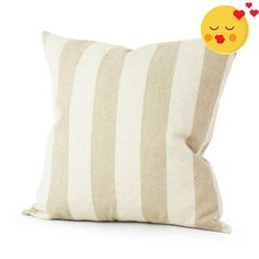 #stylish Features: 1. The material of this pillowcase is top quality cotton canvas, which is durable and #environmentally friendly. 2. Features a pattern of taup...