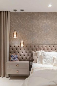 lovely dreamy master bedroom ideas and designs 43 ~ mantulgan.me lovely dreamy master bedroom ideas and designs 43 ~ mantulgan. Luxury Bedroom Design, Master Bedroom Interior, Home Room Design, Bedroom Furniture Design, Master Bedroom Design, Luxury Home Decor, Bedroom Decor, Bedroom Ideas, Interior Design