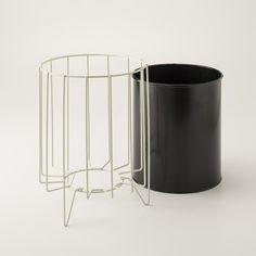 Wire Framed Trash Bin   Accessories   Office