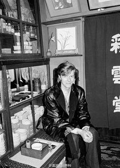 David Bowie in KYOTO, JAPAN, 1980 by Masayoshi Sukita.