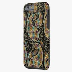 Cute iPhone 6 Case! This Colorful Vintage Ornate Paisley Design iPhone 6 Case can be personalized or purchased as is to protect your iPhone 6 in Style!