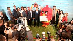 """""""Angry Birds for a Happy Planet"""", a UN Campaign to teach about global climate changes. United Nations, March 2016."""