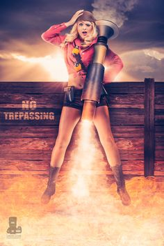 Fem Soldier from Team Fortress 2 – Rocket Woman