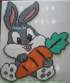 baby Bunny hama beads by marmorette88130