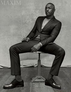 Idris Elba wearing a #GiorgioArmani suit