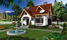 Case mici cu lucarne - iz de poveste