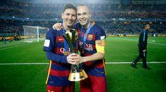 Clubs World Cup celebrations #FCBarcelona #ClubWorldCup #CampionsFCB #FansFCB #Messi #Iniesta