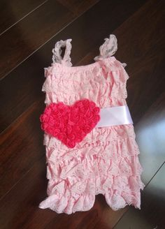 Lace Romper and SashBaby Lace Romper Petti by AvryCoutureCreations, $23.95. Sun dress out of ruffly fabrics.