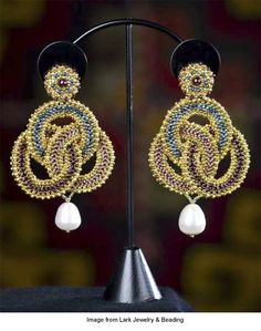 "Maggie Meister's ""Artemisia"" earrings"