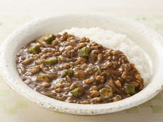 納豆カレー|レシピ|S&B エスビー食品株式会社